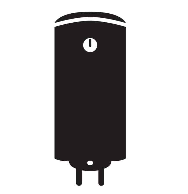 boiler icon on a white background